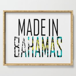 Made In Bahamas Serving Tray