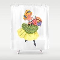 cinderella Shower Curtains featuring Cinderella by Celine Billy