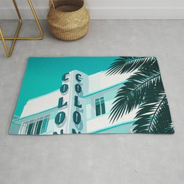 Colony Hotel Miami Beach Rug
