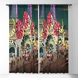 Luna Park Coney Island Amusement Park, New York, New York Portrait Blackout Curtain