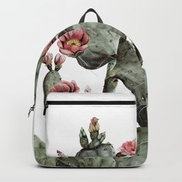 Prickly Pear Cactus Painting Backpack