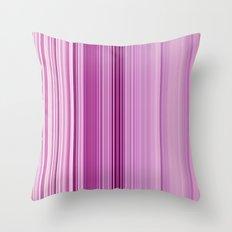 pink sunday Throw Pillow