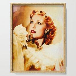 Anita Louise, Vintage Actress Serving Tray