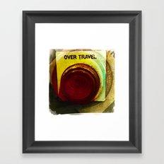 over travel 2 Framed Art Print