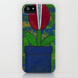 Bitey Blossom iPhone Case