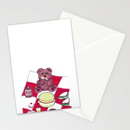 Teddy bear's picnic Stationery Cards