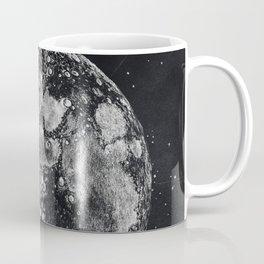 Moon and Universe Coffee Mug