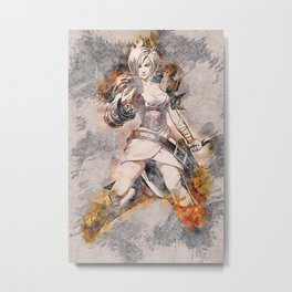 RIVEN - League of Legends Metal Print