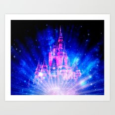 Princess Fairy Tale Castle Art Print