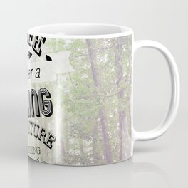 life is either a daring adventure or nothing at all Coffee Mug