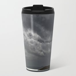 Cloudy island Travel Mug