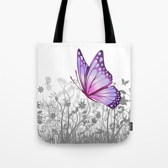 Fantasy Butterfly #8 Tote Bag