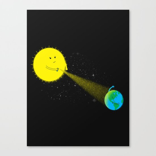 Sp-ray of Hope Canvas Print