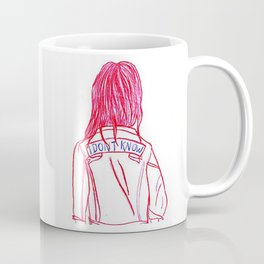 I DON'T KNOW - NO FACE COLLECTION Coffee Mug