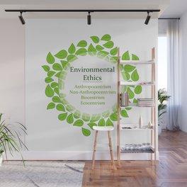 The 4 Environmental Ethics Wall Mural
