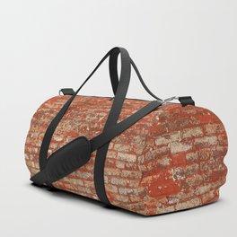 Brick Wall Texture Duffle Bag