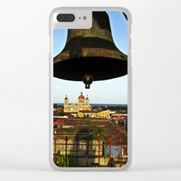 Bell Tower View, Granada, Nicaragua Clear iPhone Case