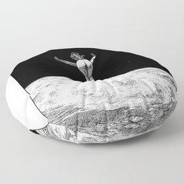 asc 579 - Le vertige (Gaze into the abyss) Floor Pillow