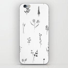 Wildflowers BIG iPhone Skin