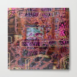 All The Disgusting Stuff... [Recombinant Series] Metal Print