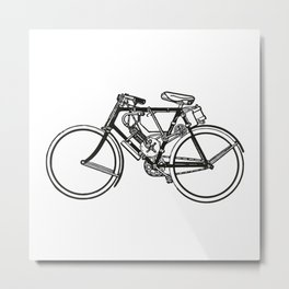 Bike Bicycle Bicicleta Vélo Metal Print