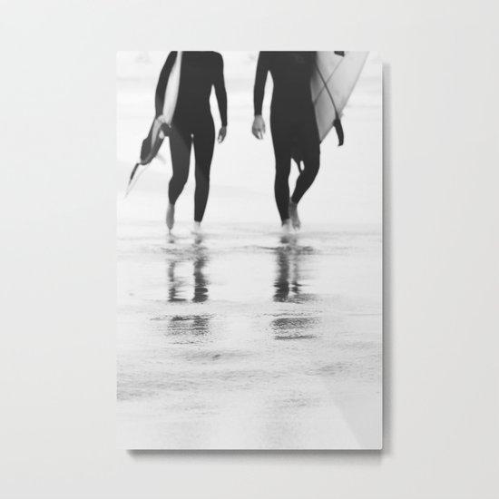 Catch a wave III Metal Print