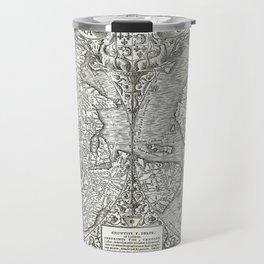 "World map ""Nova et integra universi orbis descriptio"" By Oronce Fine, dated 1532 Travel Mug"