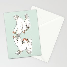 Chicken Fight Stationery Cards