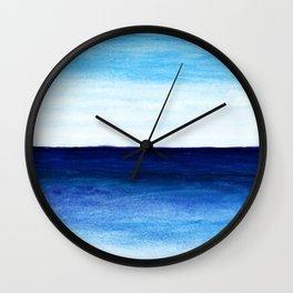 Blue & blue Wall Clock