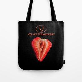 VelvetStrawberry by Vanessa Ilka Tote Bag