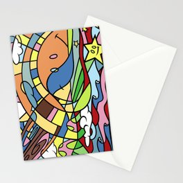In the Pursuit of Happiness Stationery Cards