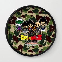 dragon ball bape Wall Clock