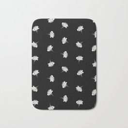 Fanciful Garden - Carnations Bath Mat