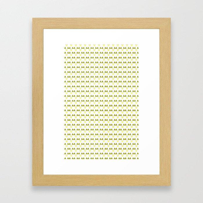 Bee Goose Framed Art Print