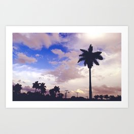 palmadise 2 Art Print
