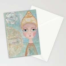 Happy soul Stationery Cards