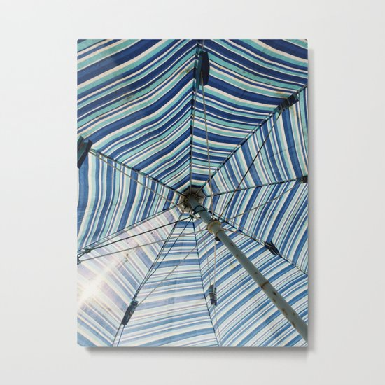 Beautiful Mundane 02 - Spider Web Umbrella Metal Print