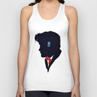 dr who Tank Tops featuring Dr Who - Geronimo by Duke Dastardly