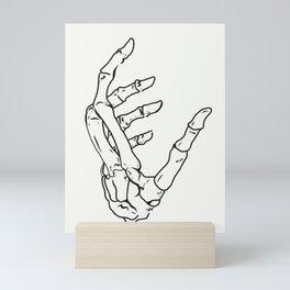 Skelly Mini Art Print