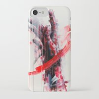 courage iPhone & iPod Cases featuring Courage by dairo vargas