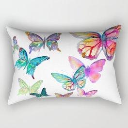 Butterflies Rectangular Pillow