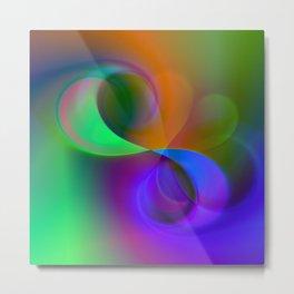 color whirl -32- Metal Print