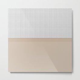 Grid 9 Metal Print