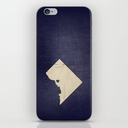 Washington, DC Love iPhone Skin