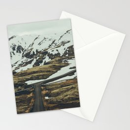 iceland road trip Stationery Cards