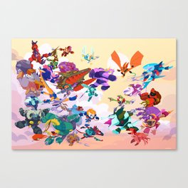 Battle Beasts Series 1 Canvas Print