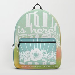 Spring is here Backpack