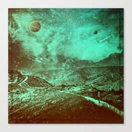 Birthing of Planets Canvas Print