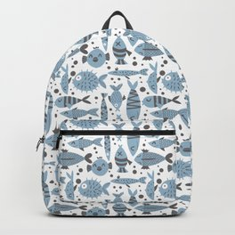 All kinds of fishes Backpack