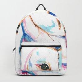 Colorful Barn Owl Splash Backpack